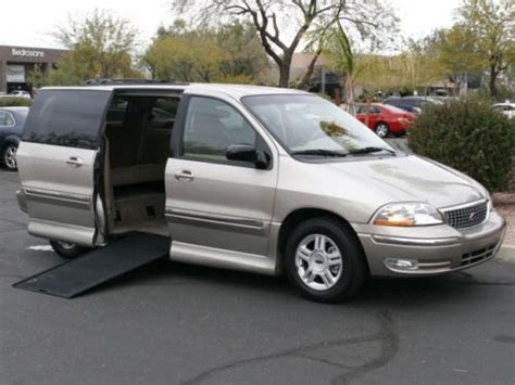 manual cars for sale 2000 ford windstar parking system purchase used 2003 ford windstar se wheelchair handicap van low miles power door and r in