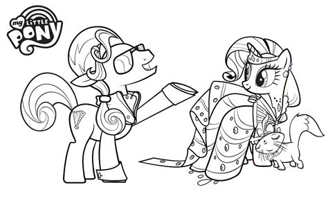 my little pony anime coloring pages anime