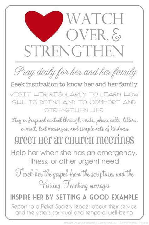 107 Best Visiting Teaching Images On Pinterest Church Ideas Relief Society And Lds Church Visiting Teaching Reporting Template
