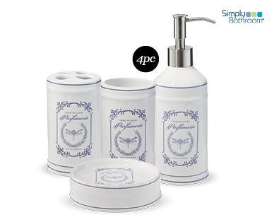 aldi bathroom accessories bathroom accessories set 4pc aldi australia specials