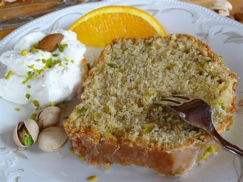 kuchen mit orangen mandel orangen kuchen mit pistazien rezept mit bild