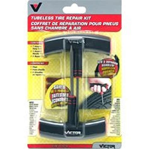 victor    vf heavy duty tire repair kit  pieces