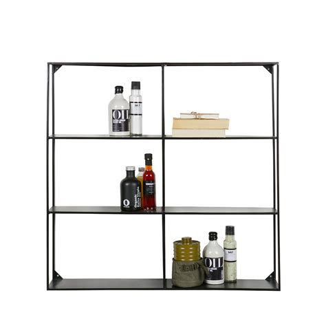 etagere metal etag 232 re murale en m 233 tal collection meert by drawer