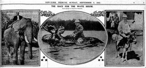that famous photo of teddy roosevelt riding a moose is fake 10 famous hoaxes busted pranksters