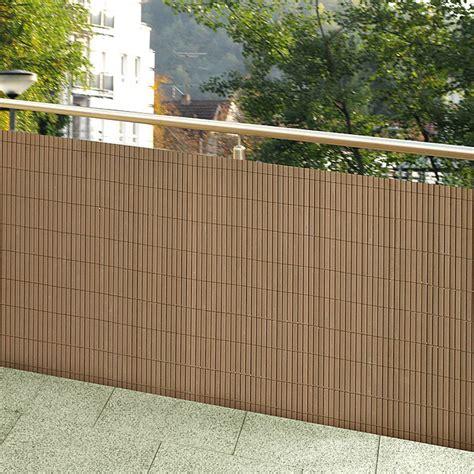 Fenster Sichtschutzfolie Bauhaus by Gardol Comfort Sichtschutz Kastanienbraun 300 X 90 Cm