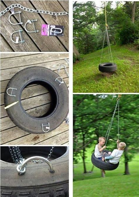 diy tyre swing diy tire swing recycled tire creations pinterest