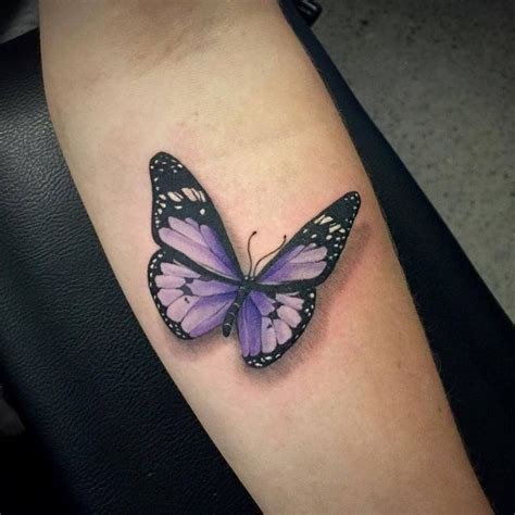 purple butterfly tattoo 25 best ideas about realistic butterfly on