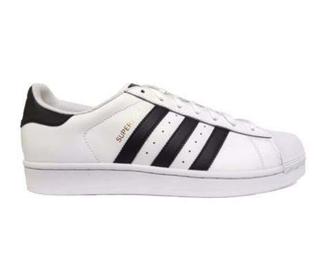 adidas superstar mens c77124 white black gold shell toe shoes sneakers size 13 ebay