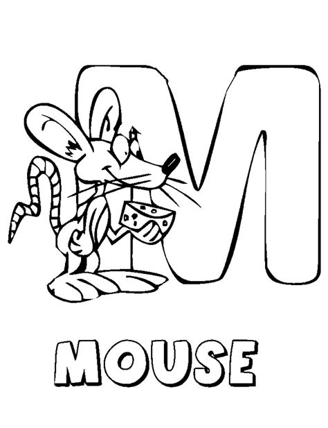 mickey mouse letters coloring pages printable alphabet coloring pages mickey mouse coloring pages