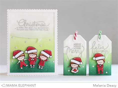 elephant cards melania deasy november elephant me challenge used