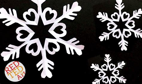 Snowflakes Out Of Paper - paper snowflakes six pointed snowflakes