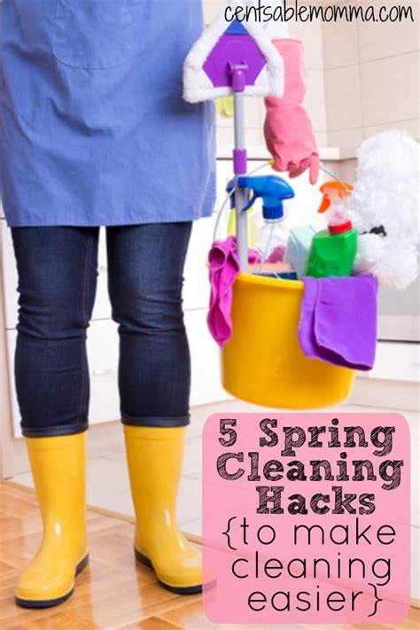 spring cleaning hacks 5 spring cleaning hacks centsable momma