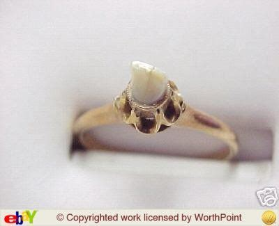 victorian antique baby tooth ring jewelry im