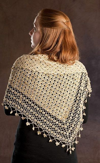 pinterest shawl crochet pattern ravelry crocheted shawl with sequins pattern by rozetti