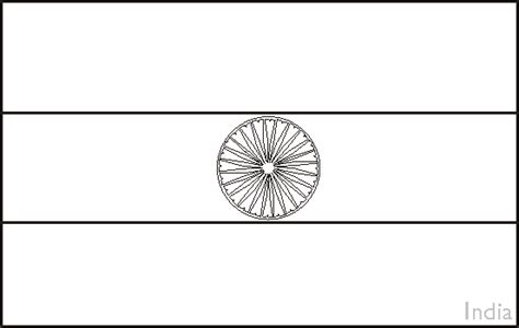 coloring pages of the indian flag india flag coloring page