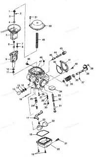 polaris atv parts 1998 w98ch50a sportsman 500 carburetor diagram
