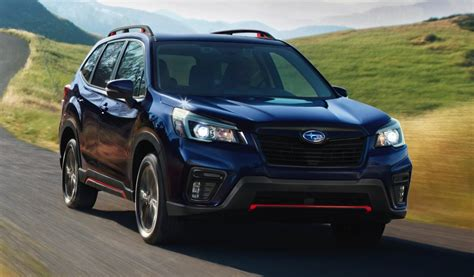 subaru forester 2019 2019 subaru forester msrp starts at 24 295