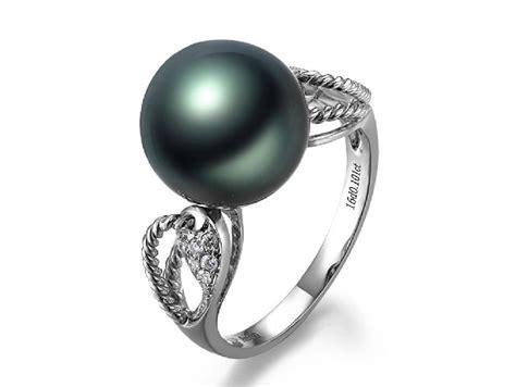 nolwenn tahitian pearl and rings tta54964q