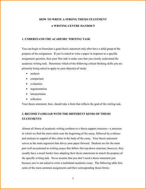 draft thesis exle how to write a thesis statement exle 275630 png