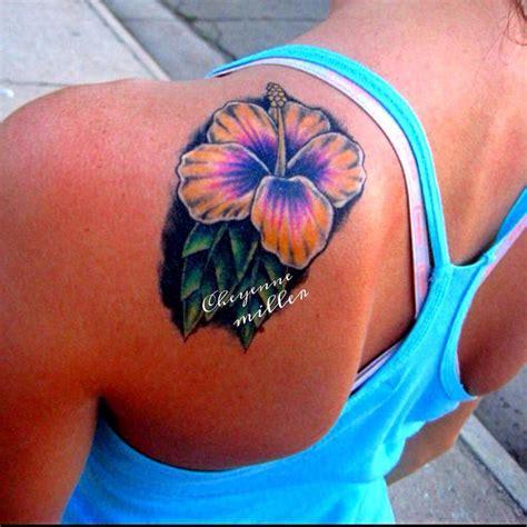 flower tattoo on shoulder pinterest 28 best hibiscus flower tattoos on shoulder images on