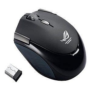 Mouse Asus Wireless asus gx810 mouse laser 7 button s wireless 2 4 ghz usb wireless receiver black