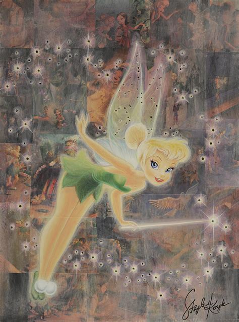 tinkerbell painting free tinkerbell painting by stapler kozek
