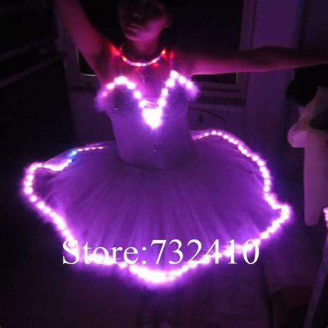 light up tutu luminous touch chest ballet skirt tutu skirt led