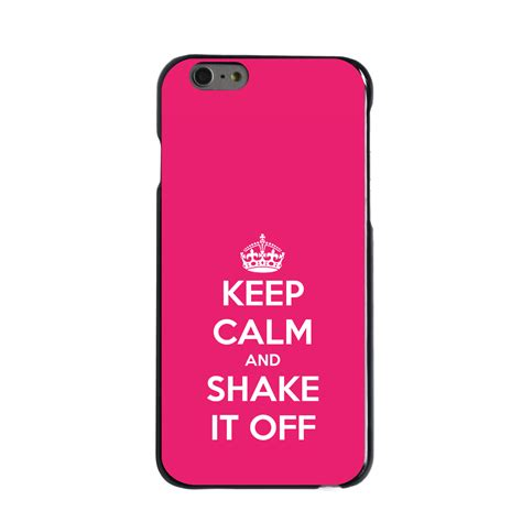Casing Iphone 6s Airwaves Custom custom cover for iphone 5 5s 6 6s plus keep calm and shake it