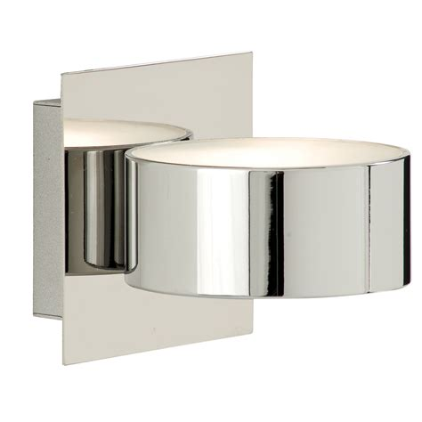 outdoor light back plate chrome circular wall light with square back plate glass