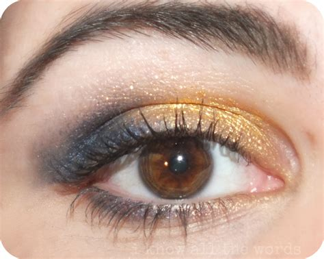 electric blue tattoo maybelline colour metal eyeshadow gold and