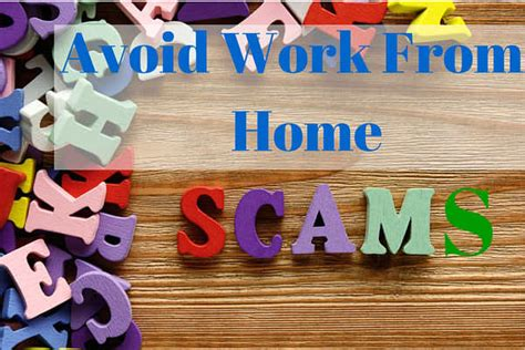 about work from home scams - Online Work From Home Scams