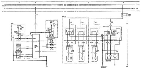 acura integra 1991 wiring diagrams power locks