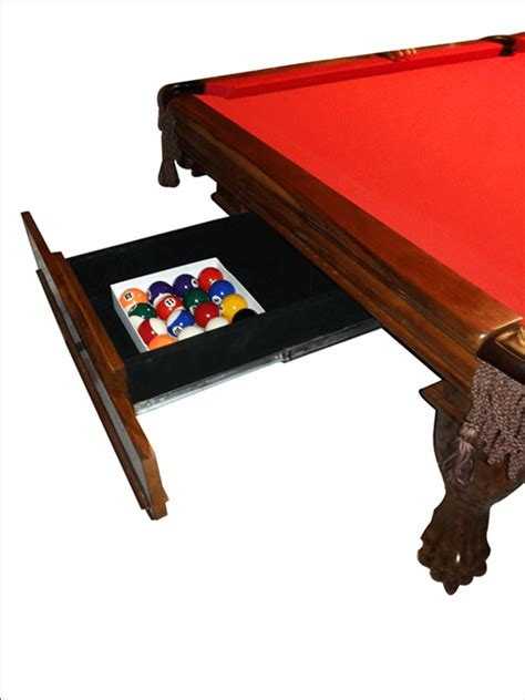 Pool Table Drawer by Pool Tables With Inbuilt Drawers