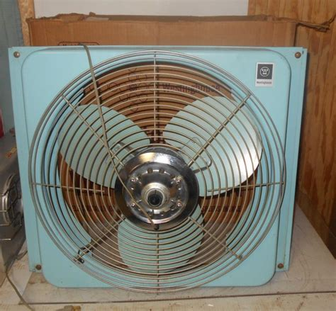 box window fan vintage 20 quot window fan as 40 original box westinghouse 3