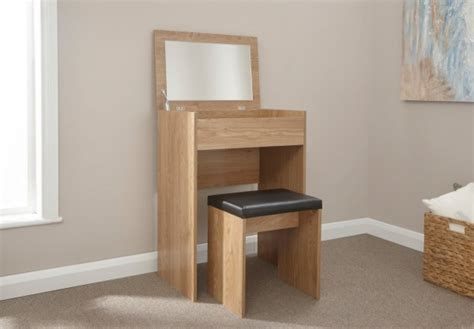 Compact Table And Stools by Gfw Compact Dressing Table And Stool In Oak By Gfw