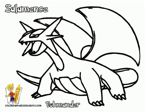 Legendary Coloring Pages