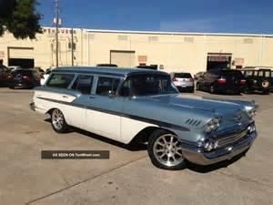 1958 chevrolet nomad wagon resto mod tuned port