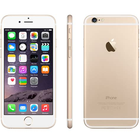 apple iphone 6 16 go or mg492zd a achat vente mobile smartphone sur ldlc