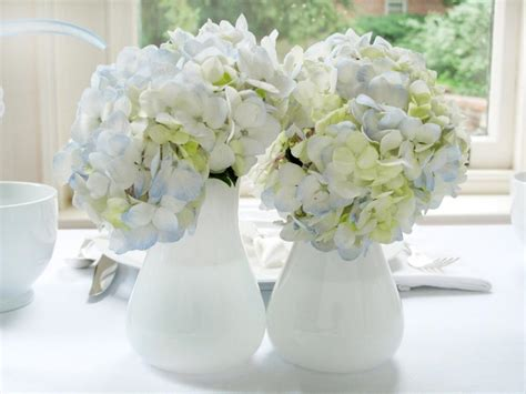 bridal shower photo centerpieces 2 white and blue bridal shower brunch hgtv
