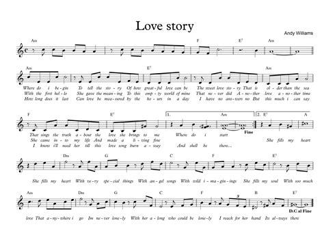 tutorial guitar love story sheet nhạc hợp 194 m love story guitarfc com
