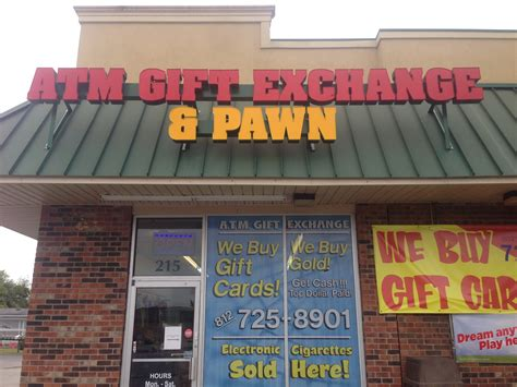 Atm Gift Card Exchange New Albany In - a t m gift card exchange your new age pawn shop 215 grant line road suite 215
