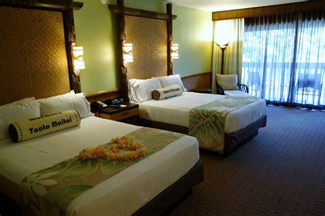Photo Tour of a Larger Refurbished Room at Disney's Polynesian Resort