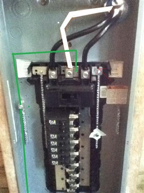 Grounding Meter grounding and bonding of service meter and distributor