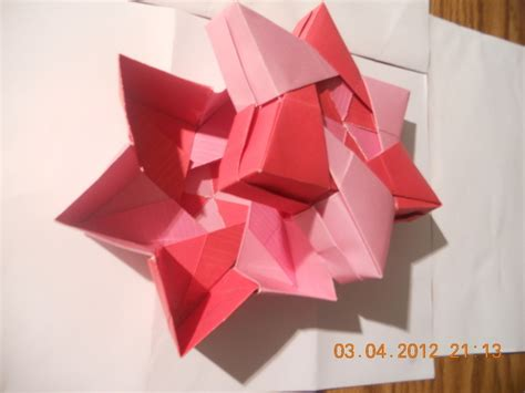 Origami 6 Point - origami 6 pointed 183 an origami shape 183 decorating