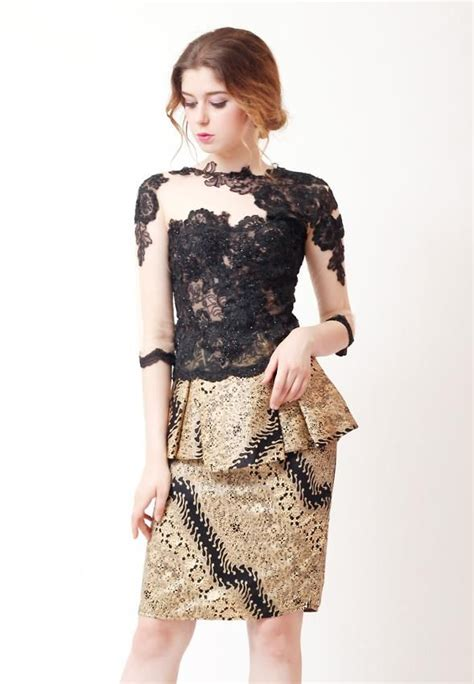 Dress Brukat Kombinasi Batik 1658 best modern indo fashion images on kebaya
