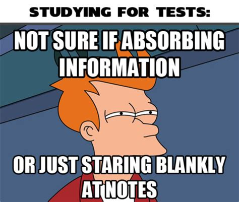 Funny Study Memes - feeling meme ish futurama tv galleries paste