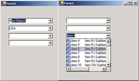 qt listbox tutorial multi column combobox codeproject