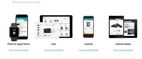 amazon mobile amazon mobile shopping apps