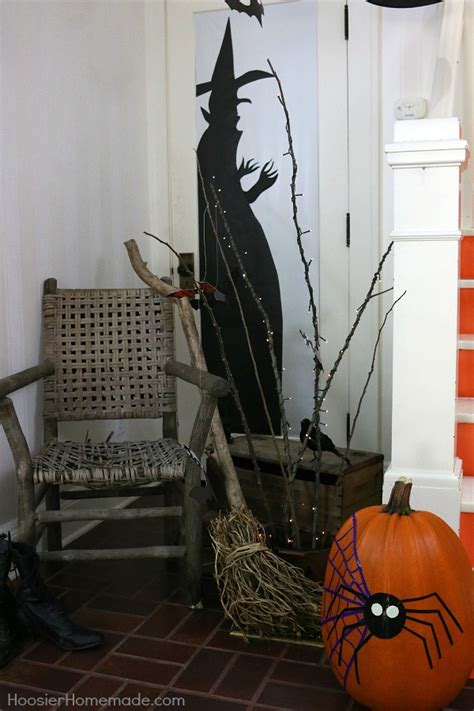 easy at home halloween decorations halloween diy decorations hoosier homemade