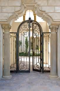 Iron Gate Front Door Bolyard Lumber Doors Iron Doors